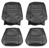 1967 EL CAMINO FRONT BUCKET SEAT COVERS RED