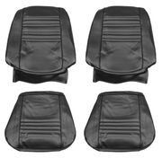 1967 EL CAMINO FRONT BUCKET SEAT COVERS WHITE