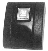 1968-72 Camaro Seat Belt Buckle Cover GM Emblem
