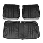 1968 EL CAMINO FRONT BENCH SEAT COVERS RED