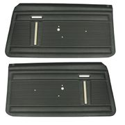 1968 NOVA STANDARD FRONT DOOR PANELS IVY GOLD