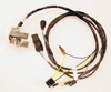 1968 PONTIAC GTO FRONT LIGHT HARNESS,STANDARD