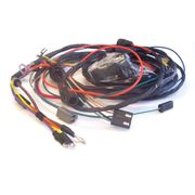 1969 Chevelle Engine Harness, 396 With Warning Lights And Idle Stop