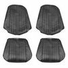 1969 EL CAMINO FRONT BUCKET SEAT COVERS DARK METALLIC GREEN