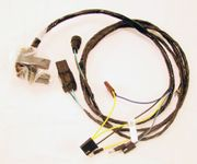 1969 PONTIAC GTO FRONT LIGHT HARNESS,GTO,WITHOUT TILT HEADLIGHT,(INCLUDES CORNERING LAMPS)