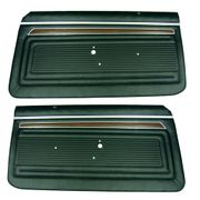 1970-1972 NOVA CUSTOM FRONT DOOR PANELS GOLD
