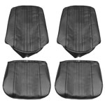 1970 EL CAMINO FRONT BUCKET SEAT COVERS 70 RED