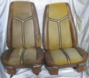 1970 Ford Thunderbird Used Pair Bucket Seats