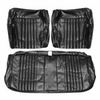 1971-1972 EL CAMINO FRONT BENCH SEAT COVERS DARK SADDLE