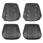 1971-1972 EL CAMINO FRONT BUCKET SEAT COVERS DARK GREEN