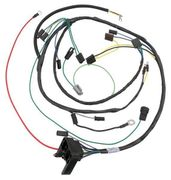 1973 PONTIAC GTO ENGINE HARNESS,V8,WITH A/C,UNITIZED DISTRIBUTOR AND FUNCTIONAL HOOD SCOOP