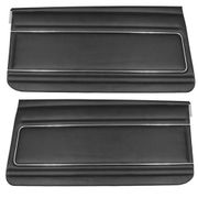 1975-1976 NOVA FRONT DOOR PANELS RED