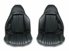 1977 EL CAMINO FRONT BUCKET SEAT COVERS SADDLE