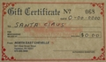 $475.00 Gift Certificate