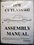 OLDSMOBILE CUTLASS/442 ASSEMBLY MANUAL