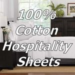 100% Cotton Hotel Sheets