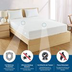 BedBug Solution Elite Zippered Mattress Covers - Bed Bug Proof & Waterproof Protection