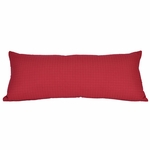 Bolster Accent Pillows - Decorative 1/2 inch Box Quilted