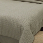 King Box Quilted Coverlets - Throw Style - Soft, Durable, Easy-Care