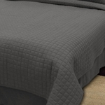 Twin Box Quilted Coverlets - Throw Style - Soft, Durable, Easy-Care