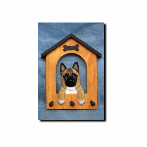 Akita Dog House Leash Holder