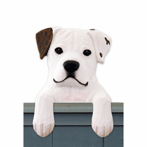 American Bulldog Door Topper