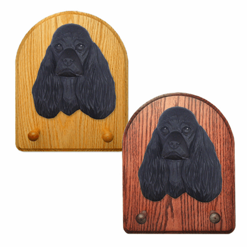 American Cocker Spaniel Key Rack-Black