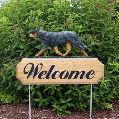 Australian Cattle Dog DIG Welcome Stake-Blue