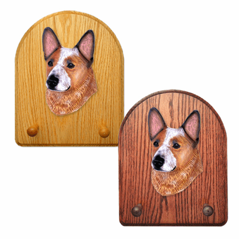 Australian Cattle Dog Key Rack-Red