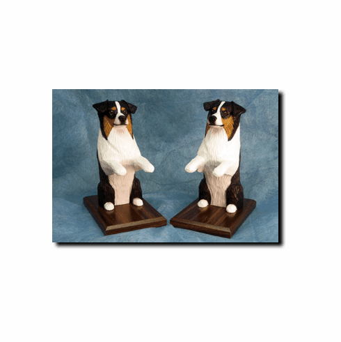 Australian Shepherd Bookends
