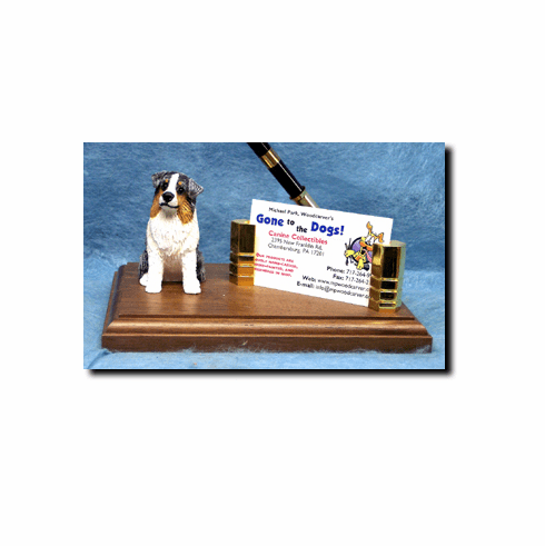 Australian Shepherd Deluxe Desk Set