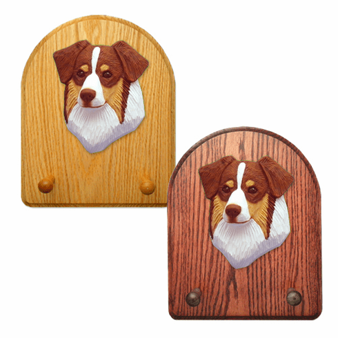 Australian Shepherd Key Rack-Red Tri