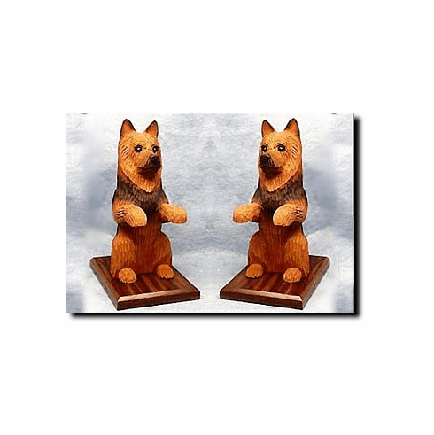 Australian Terrier Bookends