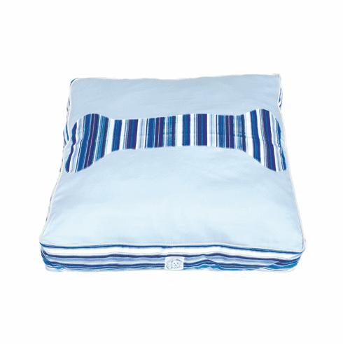 Baby Blues Twill Dog Bed