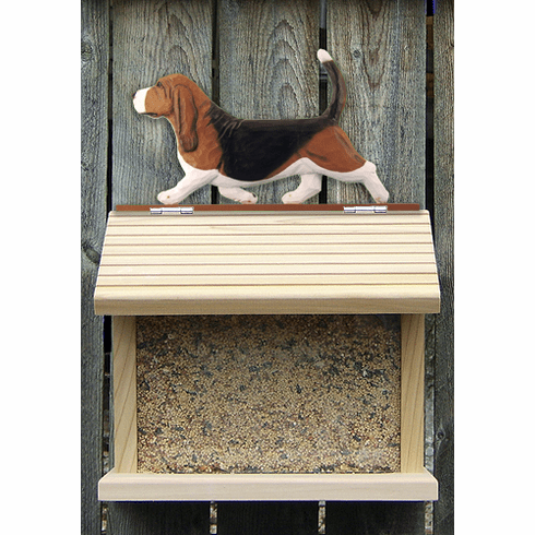 Beagle Bird Feeder-Tri