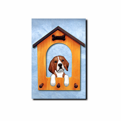 Beagle Dog House Leash Holder