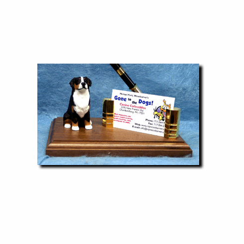 Bernese Mountain Dog Deluxe Desk Set