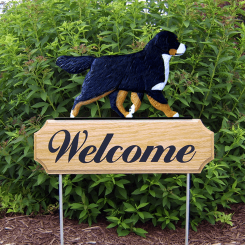 Bernese Mt. Dog DIG Welcome Stake-Standard