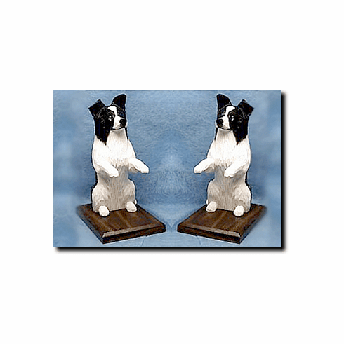Border Collie Bookends