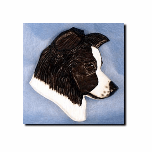 Border Collie Paperweight