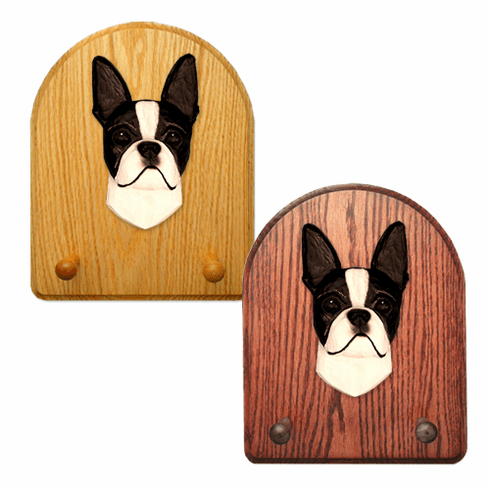 Boston Terrier Key Rack-Black