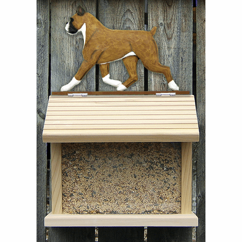 Boxer Bird Feeder-Fawn
