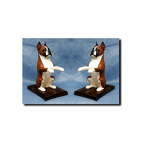 Boxer Dog Bookends