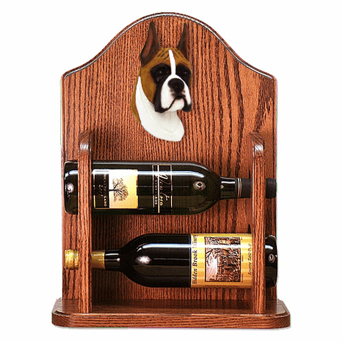 Boxer Wine Rack-Fawn