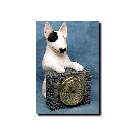 Bull Terrier Mantle Clock