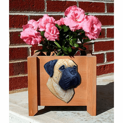 Bullmastiff Planter Box