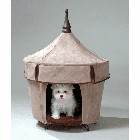 Caf� Au Lait Pet Tent Dog Bed