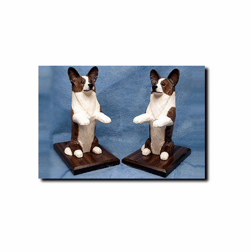Cardigan Welsh Corgi Bookends