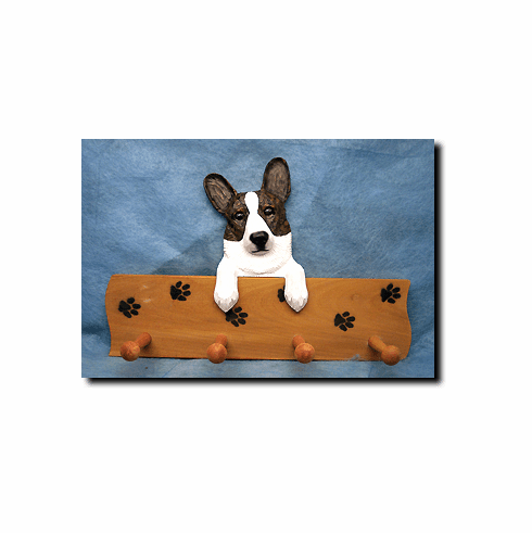 Cardigan Welsh Corgi Dog Four-Peg Hang Up