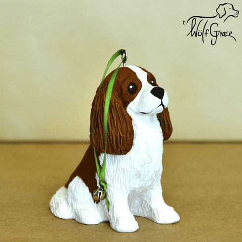 Cavalier King Charles 3-Dimenional Christmas Ornament